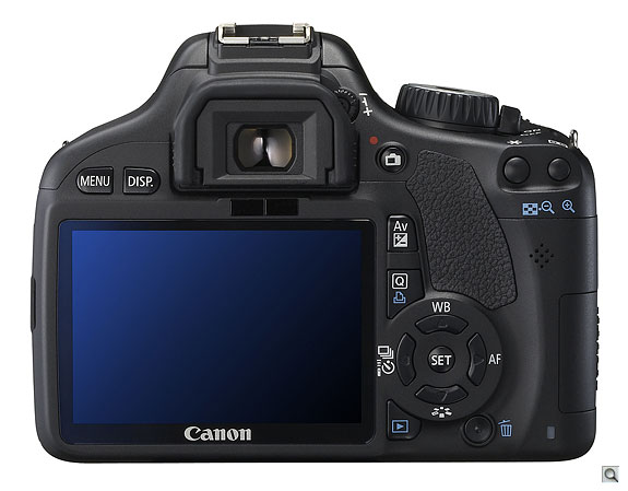 Canon 550D Back