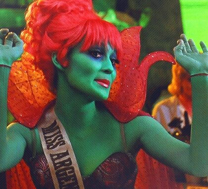 Miss Argentina from Beetlejuice